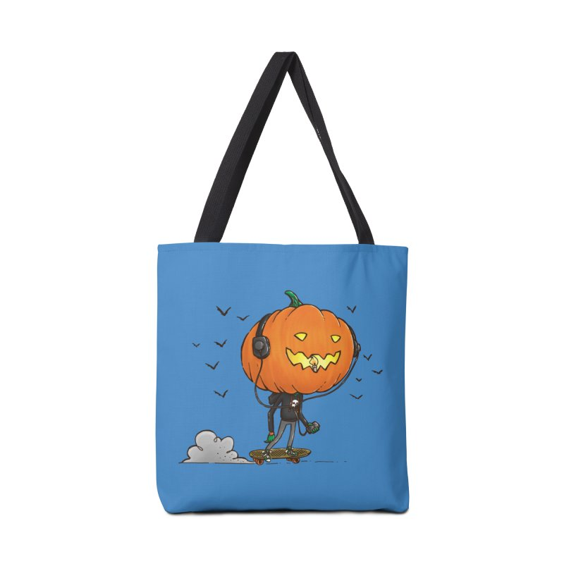 The Pumpkin Skater Accessories Bag by nickv47