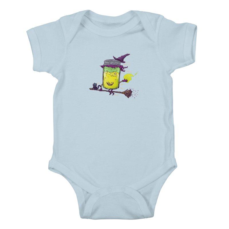 The Witch Jam Kids Baby Bodysuit by nickv47