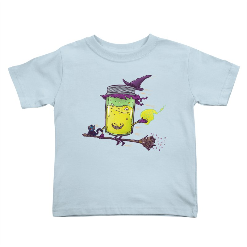 The Witch Jam Kids Toddler T-Shirt by nickv47
