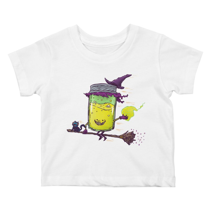 The Witch Jam Kids Baby T-Shirt by nickv47