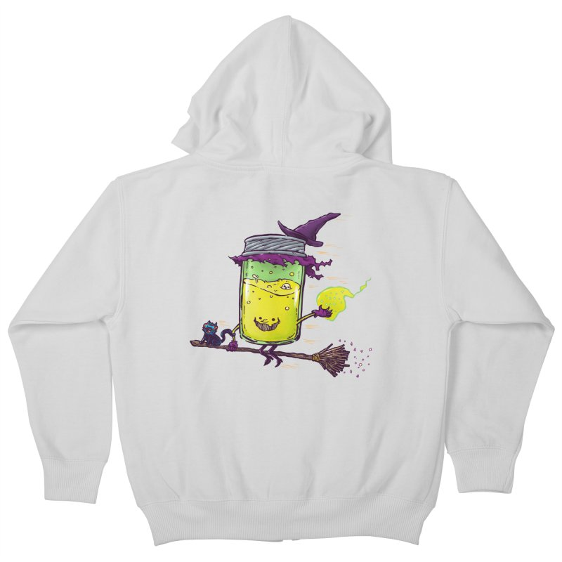 The Witch Jam Kids Zip-Up Hoody by nickv47