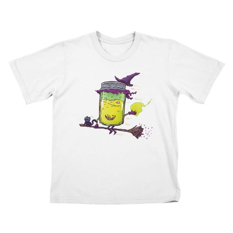 The Witch Jam Kids T-Shirt by nickv47