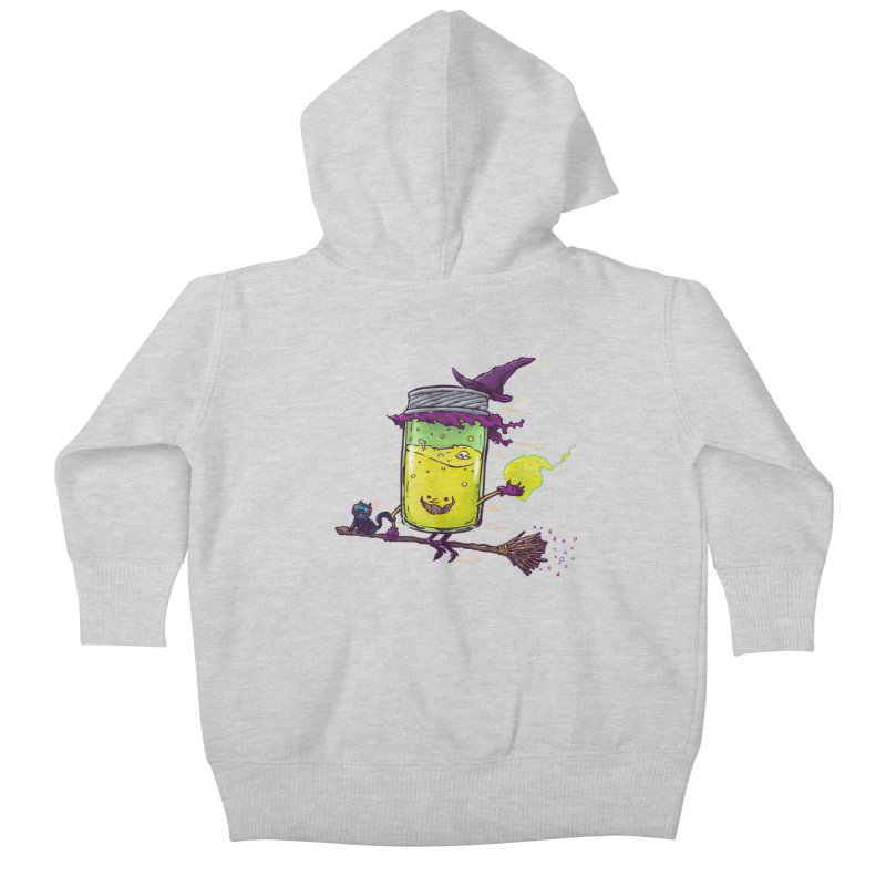 The Witch Jam Kids Baby Zip-Up Hoody by nickv47