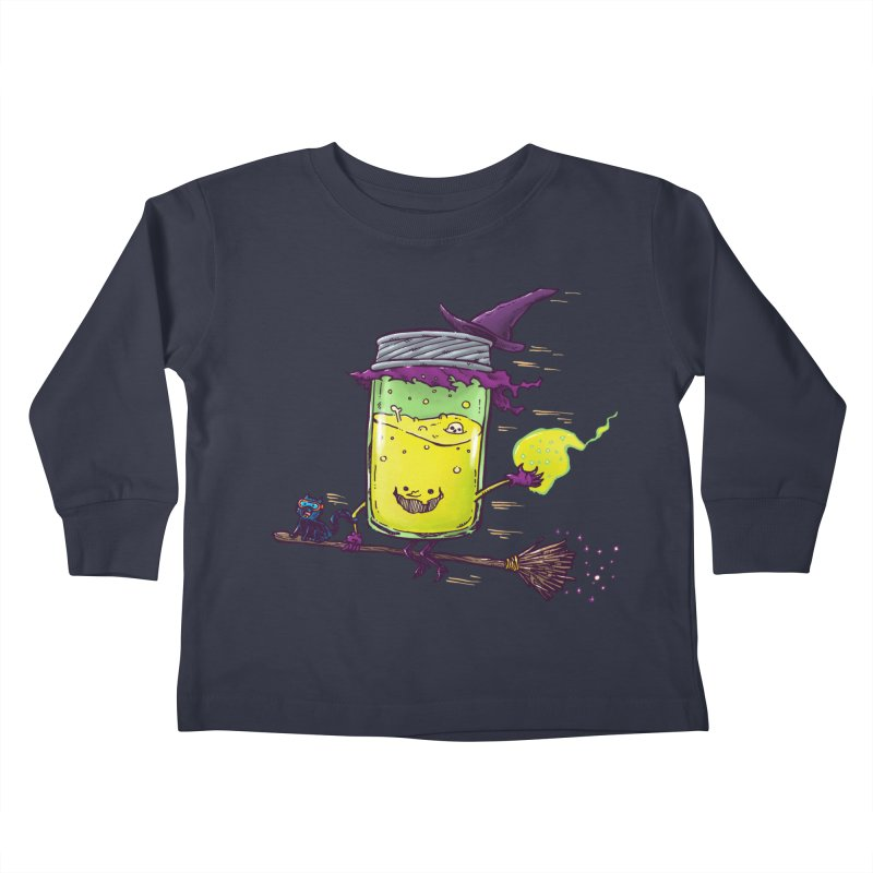 The Witch Jam Kids Toddler Longsleeve T-Shirt by nickv47