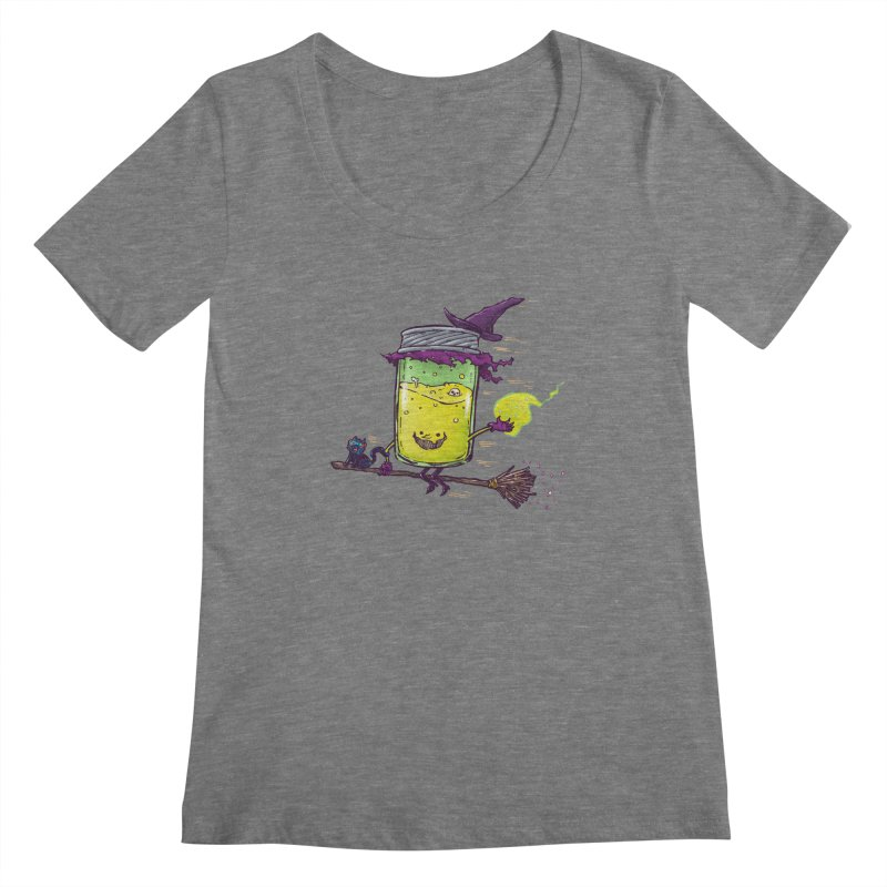 The Witch Jam Women's Scoopneck by nickv47