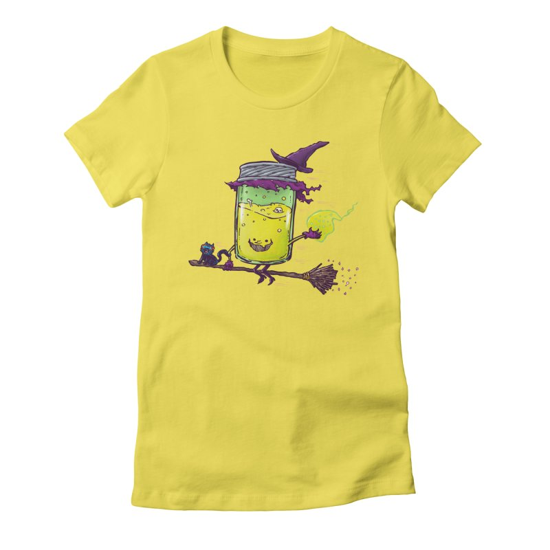 The Witch Jam Women's Fitted T-Shirt by nickv47