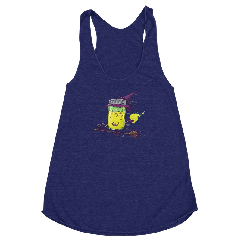 The Witch Jam Women's Racerback Triblend Tank by nickv47