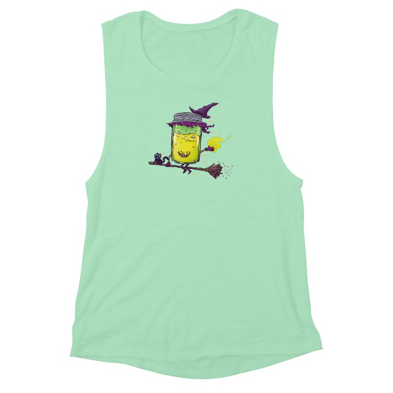 The Witch Jam Women's Muscle Tank by nickv47