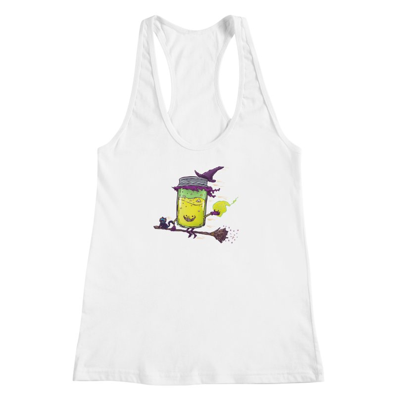 The Witch Jam Women's Racerback Tank by nickv47