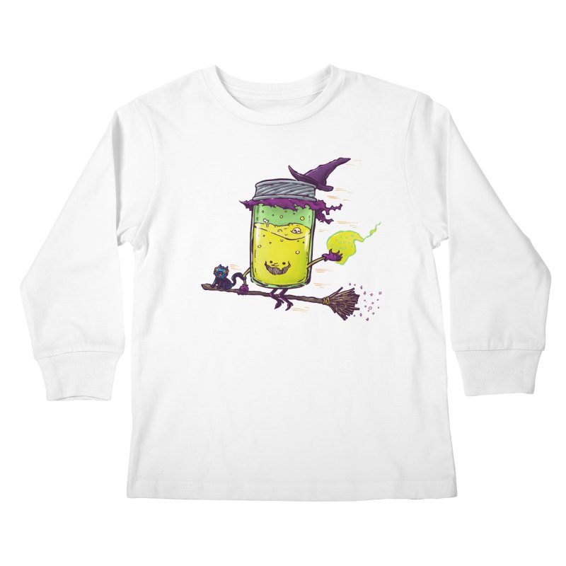 The Witch Jam Kids Longsleeve T-Shirt by nickv47