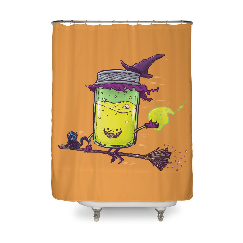 The Witch Jam Home Shower Curtain by nickv47