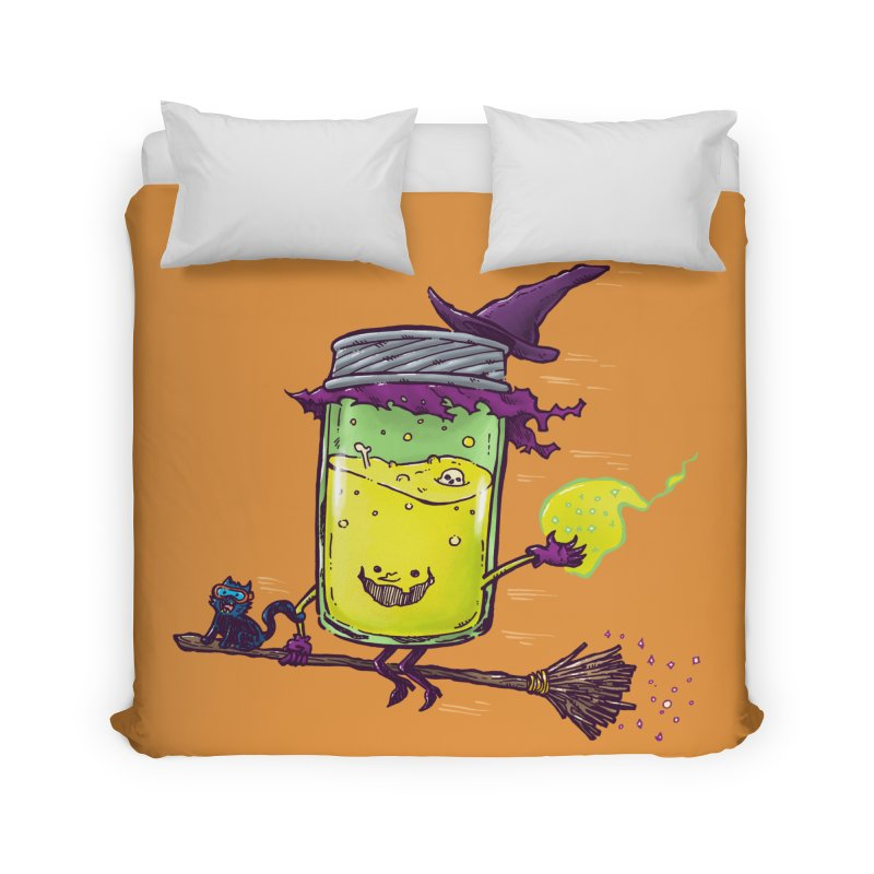 The Witch Jam Home Duvet by nickv47