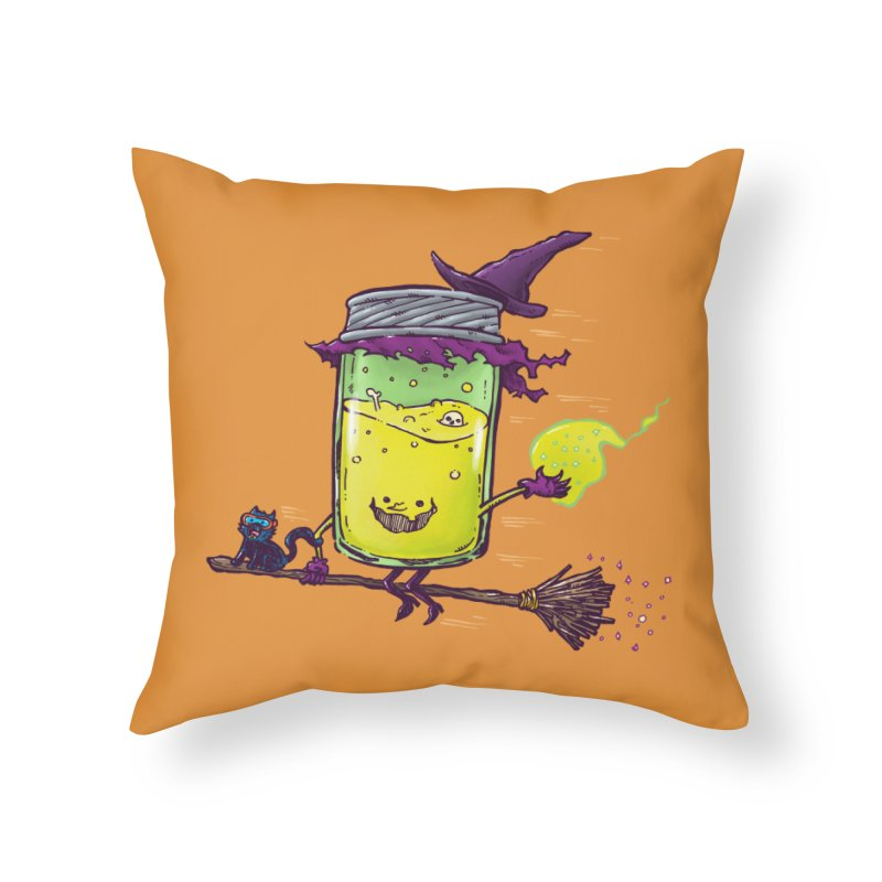 The Witch Jam Home Throw Pillow by nickv47