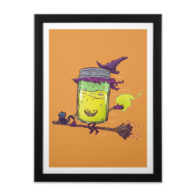 The Witch Jam Home Framed Fine Art Print by nickv47