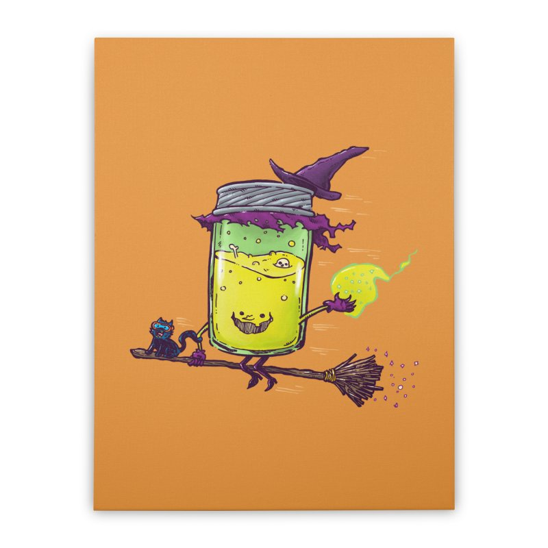 The Witch Jam Home Stretched Canvas by nickv47