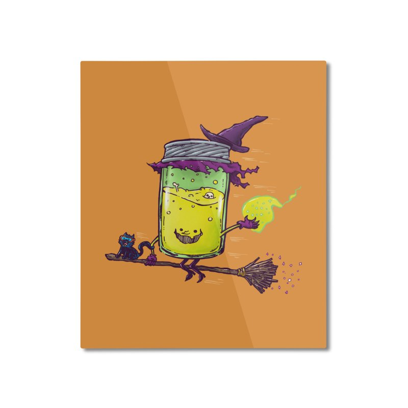 The Witch Jam Home Mounted Aluminum Print by nickv47