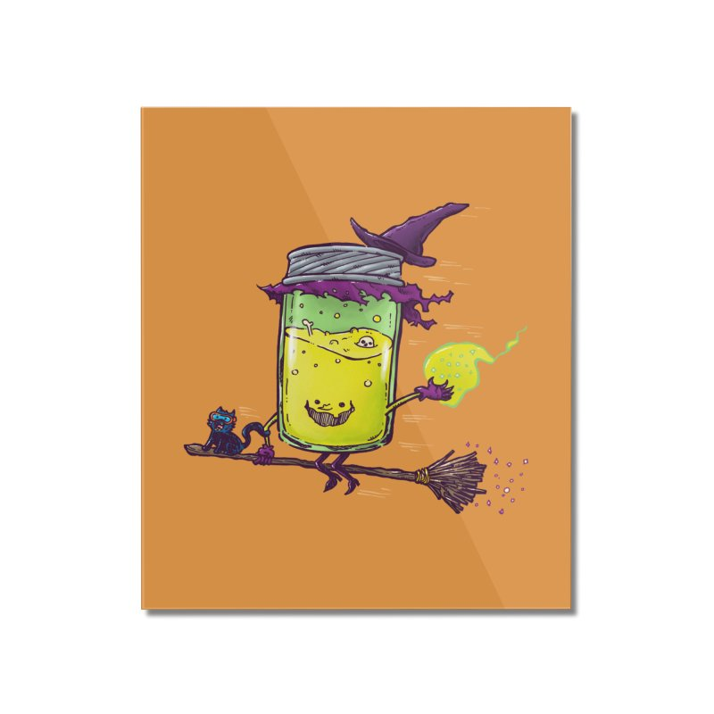 The Witch Jam Home Mounted Acrylic Print by nickv47