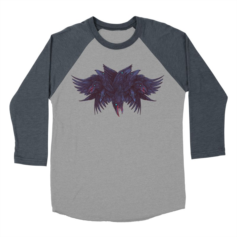 Crowberus Reborn Women's Baseball Triblend T-Shirt by nickv47