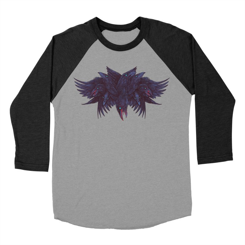 Crowberus Reborn Men's Baseball Triblend T-Shirt by nickv47