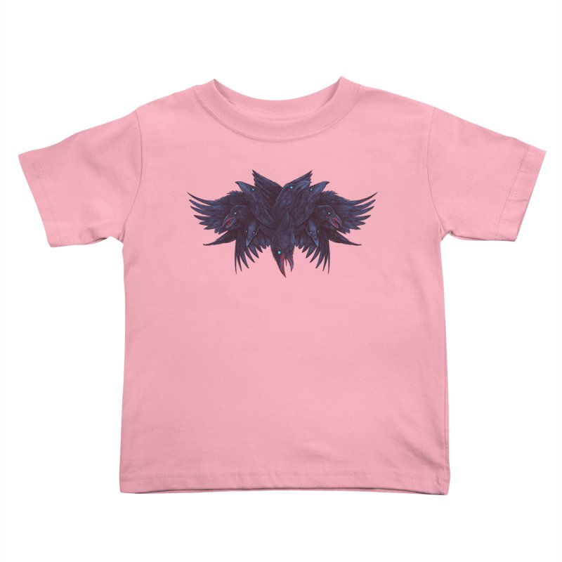 Crowberus Reborn Kids Toddler T-Shirt by nickv47