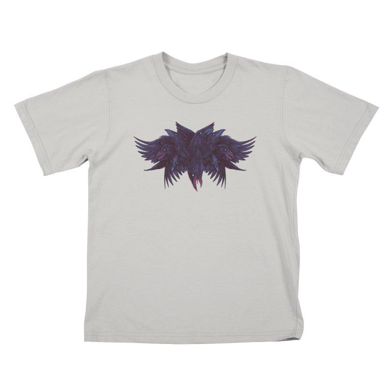 Crowberus Reborn Kids T-Shirt by nickv47