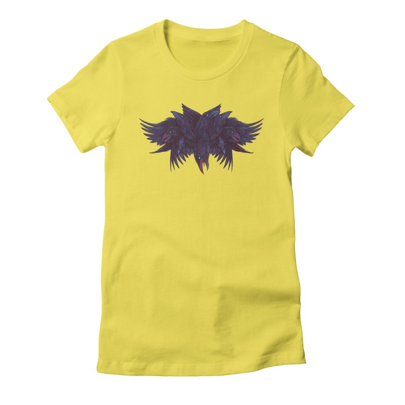 Crowberus Reborn Women's Fitted T-Shirt by nickv47