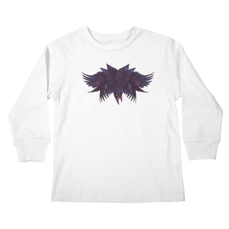 Crowberus Reborn Kids Longsleeve T-Shirt by nickv47