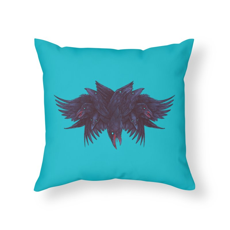 Crowberus Reborn Home Throw Pillow by nickv47