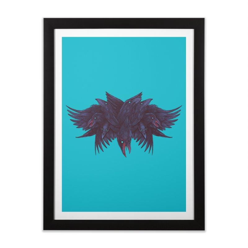 Crowberus Reborn Home Framed Fine Art Print by nickv47