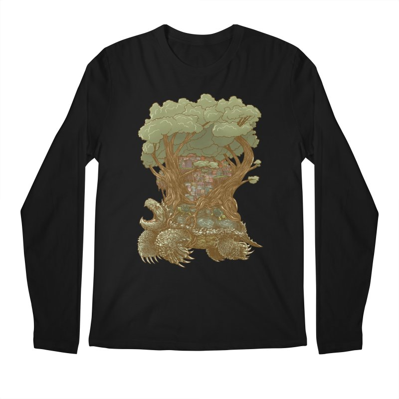 Atlas Reborn Men's Longsleeve T-Shirt by nickv47
