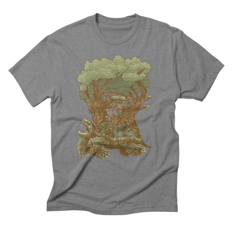 Atlas Reborn Men's Triblend T-Shirt by nickv47