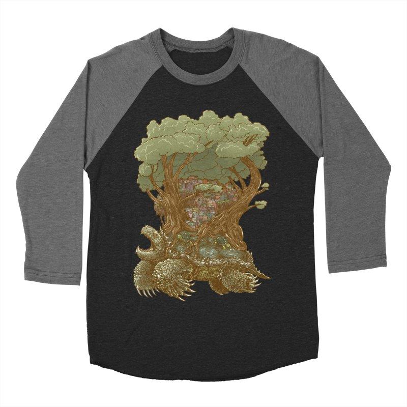 Atlas Reborn Women's Baseball Triblend T-Shirt by nickv47