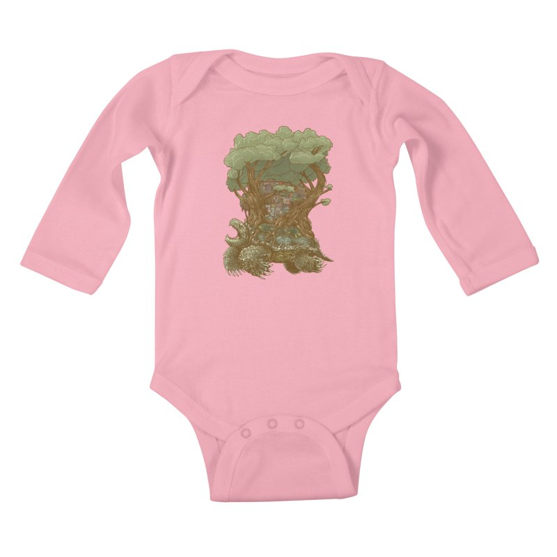 Atlas Reborn Kids Baby Longsleeve Bodysuit by nickv47