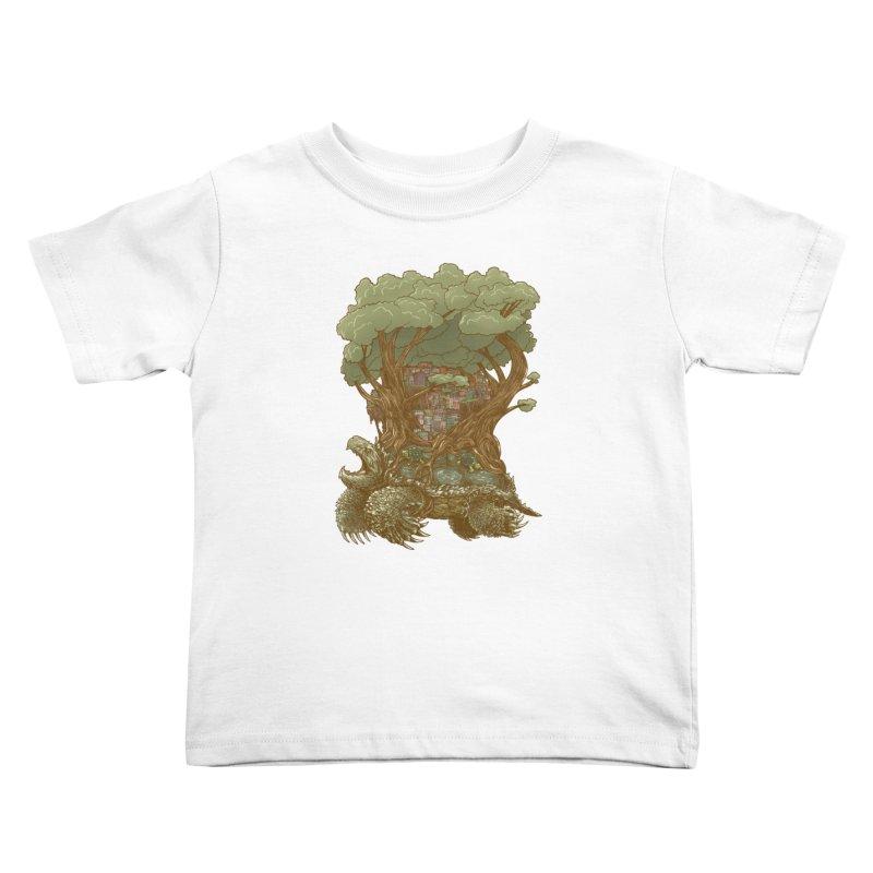Atlas Reborn Kids Toddler T-Shirt by nickv47