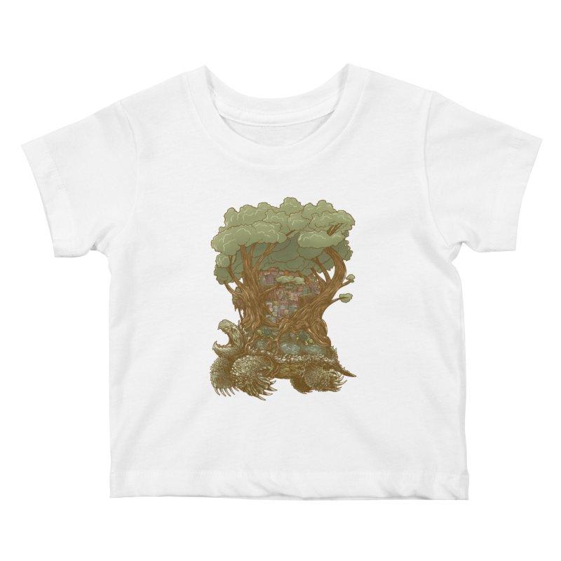 Atlas Reborn Kids Baby T-Shirt by nickv47