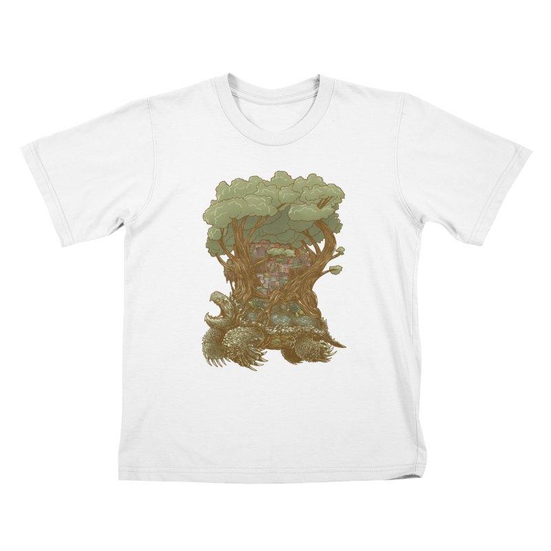 Atlas Reborn Kids T-Shirt by nickv47