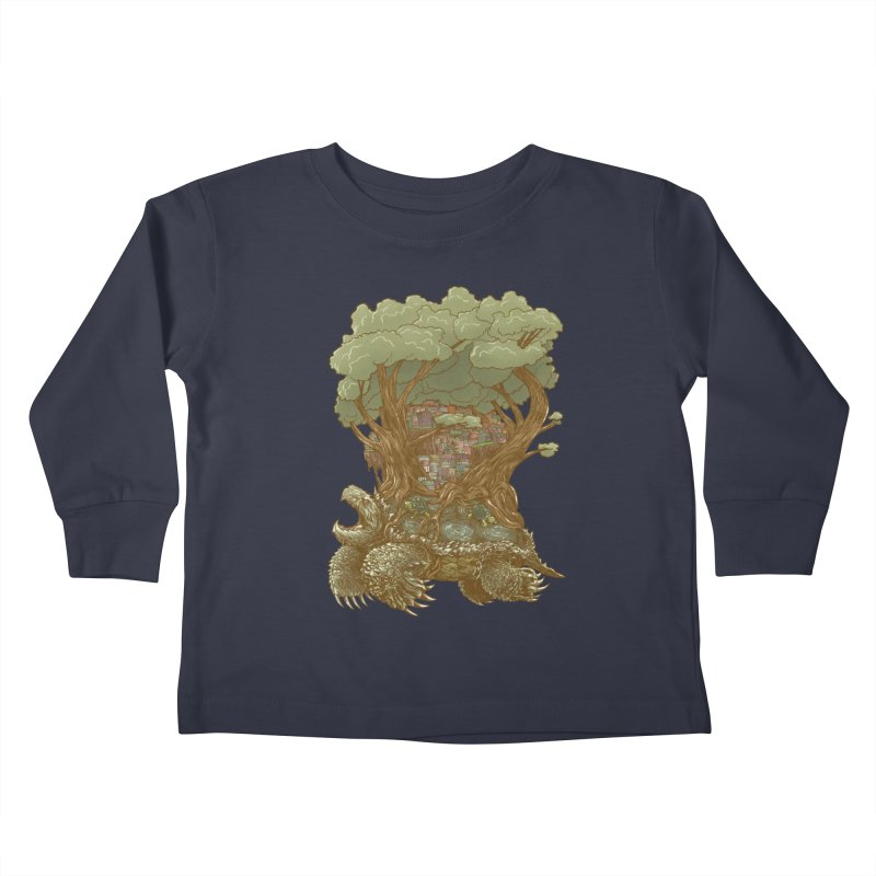 Atlas Reborn Kids Toddler Longsleeve T-Shirt by nickv47