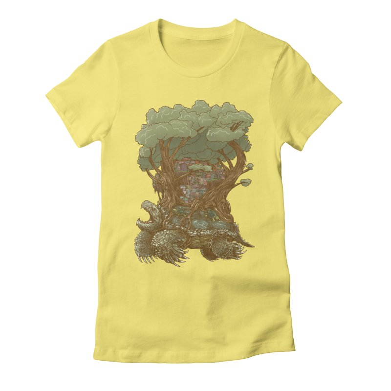 Atlas Reborn Women's Fitted T-Shirt by nickv47