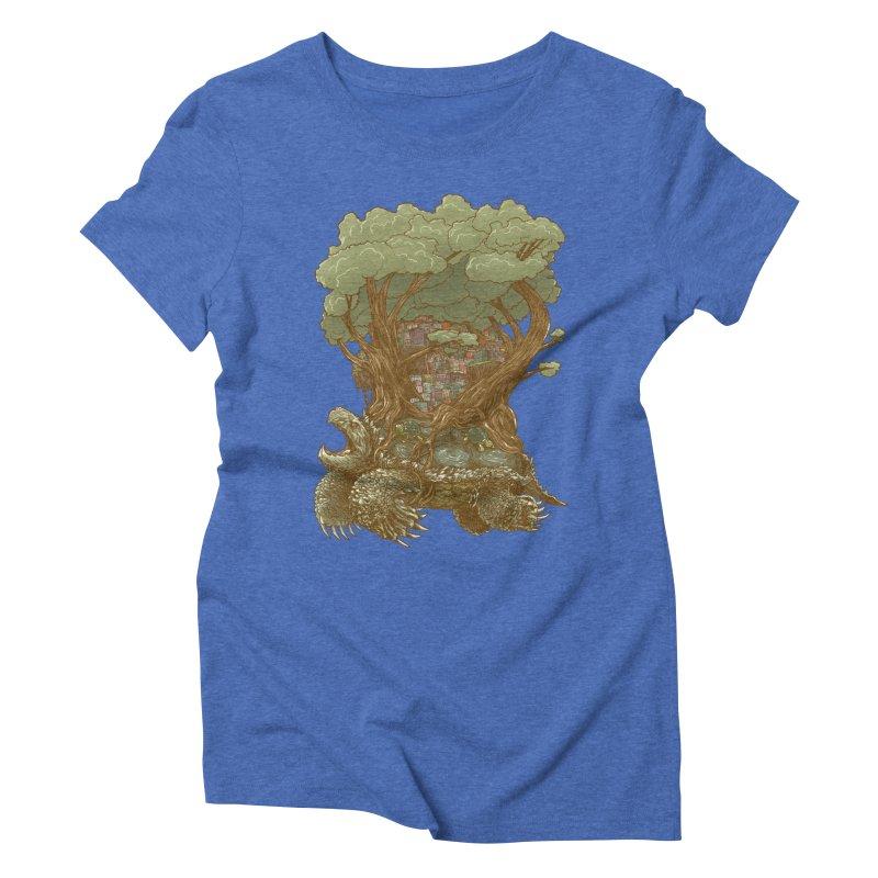 Atlas Reborn Women's Triblend T-shirt by nickv47