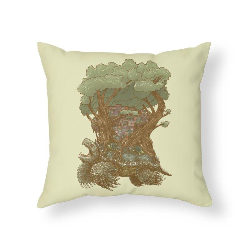 Atlas Reborn Home Throw Pillow by nickv47