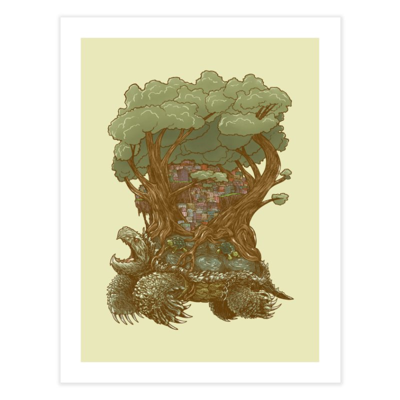 Atlas Reborn Home Fine Art Print by nickv47