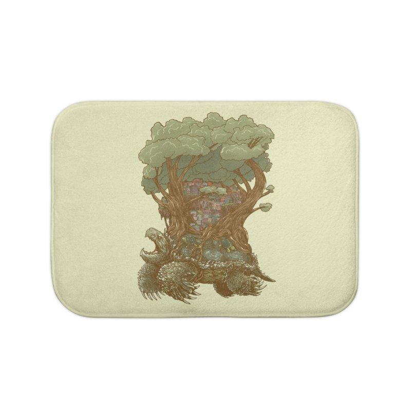 Atlas Reborn Home Bath Mat by nickv47
