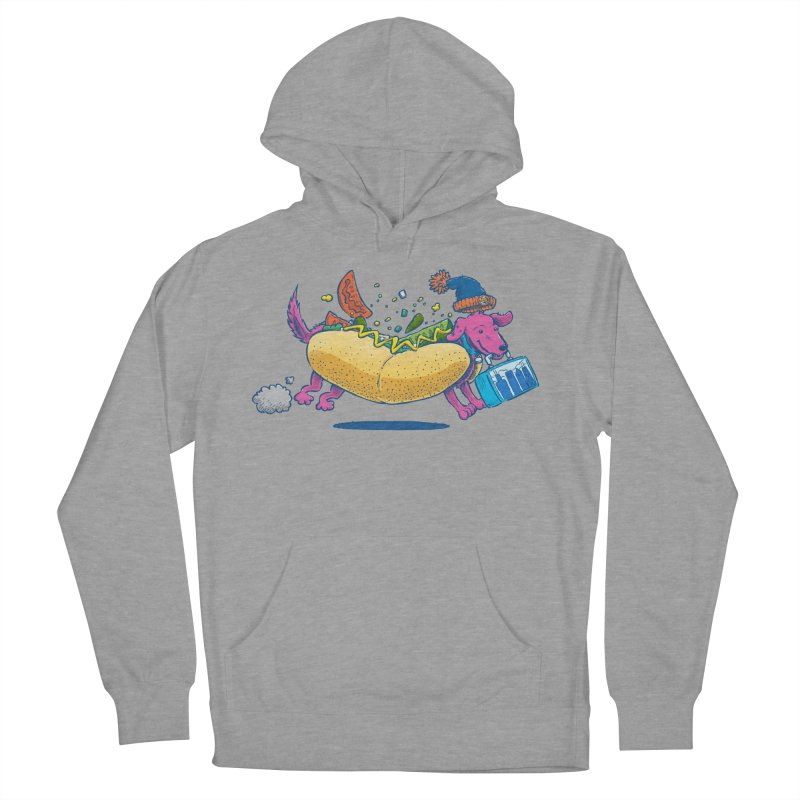 Chicago Dog: Lunch Pail Women's Pullover Hoody by nickv47