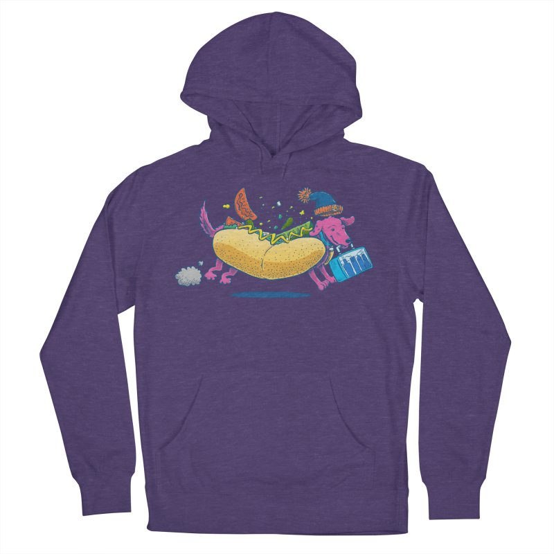 Chicago Dog: Lunch Pail Men's Pullover Hoody by nickv47
