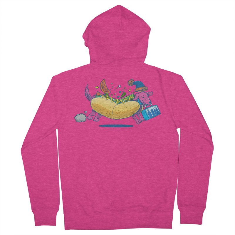 Chicago Dog: Lunch Pail Women's Zip-Up Hoody by nickv47