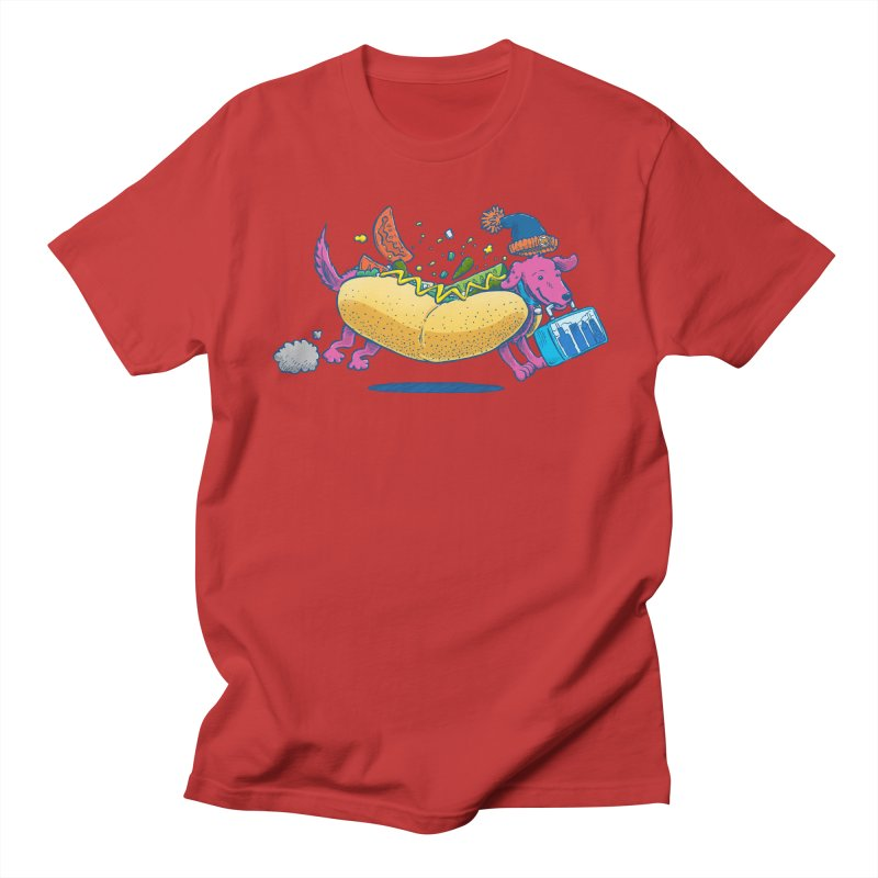 Chicago Dog: Lunch Pail Men's T-Shirt by nickv47