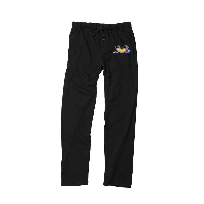 Chicago Dog: Lunch Pail Men's Lounge Pants by nickv47