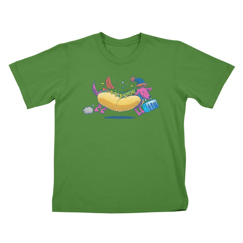 Chicago Dog: Lunch Pail Kids T-Shirt by nickv47