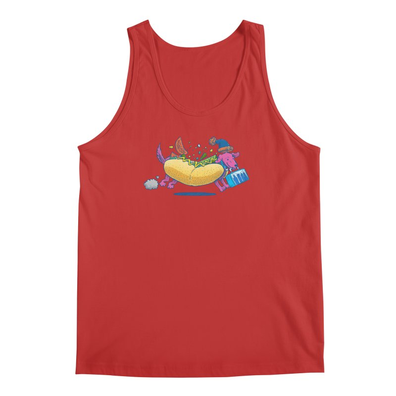 Chicago Dog: Lunch Pail Men's Tank by nickv47