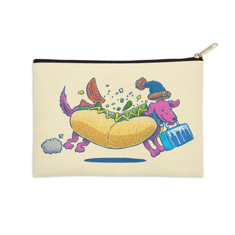 Chicago Dog: Lunch Pail Accessories Zip Pouch by nickv47